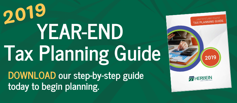 2019 Year-End Tax Planning Guide