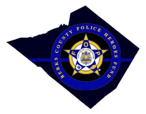 Berks County Police Heroes Fund Logo