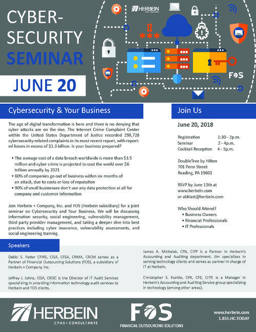 Herbein FOS Cyber Invite