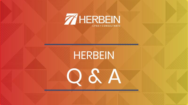 Herbein Q&A